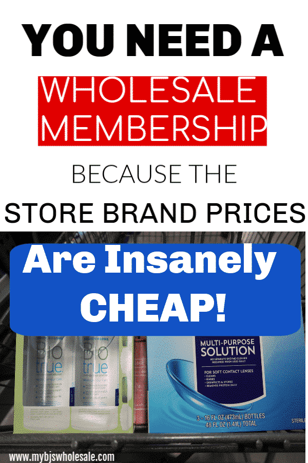 Berkley Jensen Brand Contact Solution is Insanely Cheap | My
