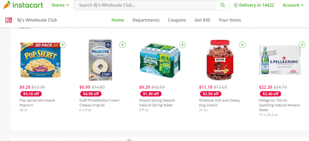Is Instacart Worth the Cost? | My BJs Wholesale Club