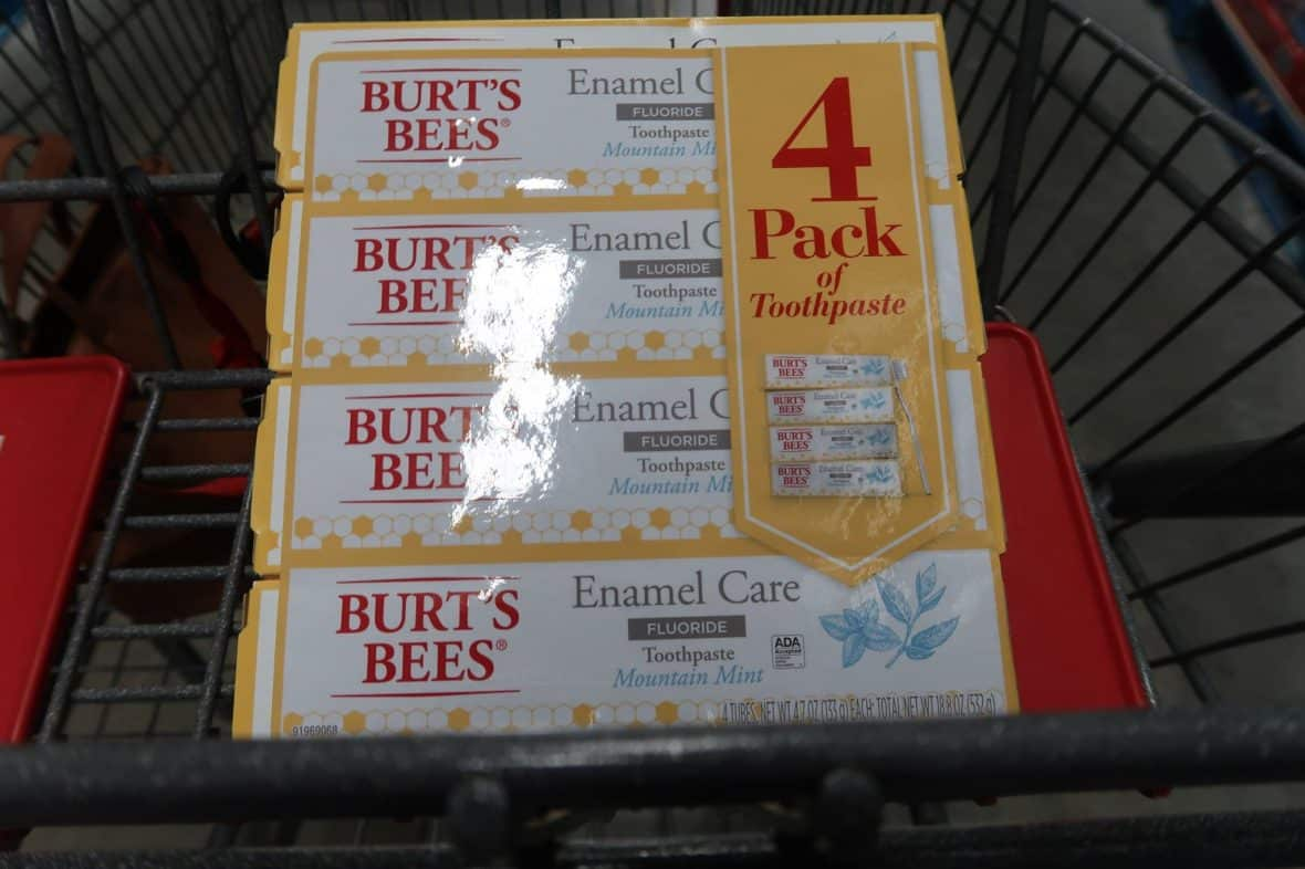 Burts Bees Toothpaste