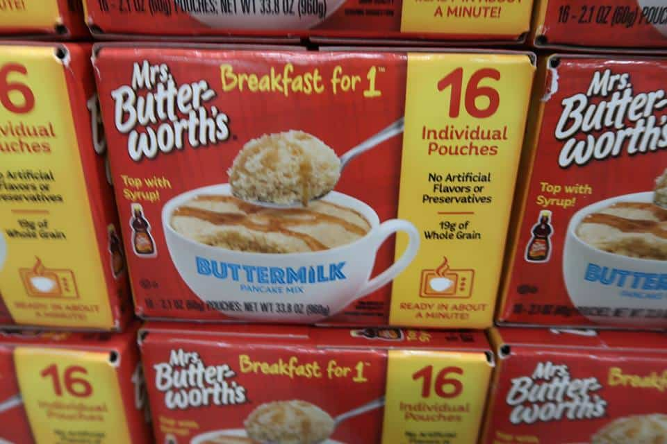 Mrs. Butterworth's Single Serve Pancakes $5.98