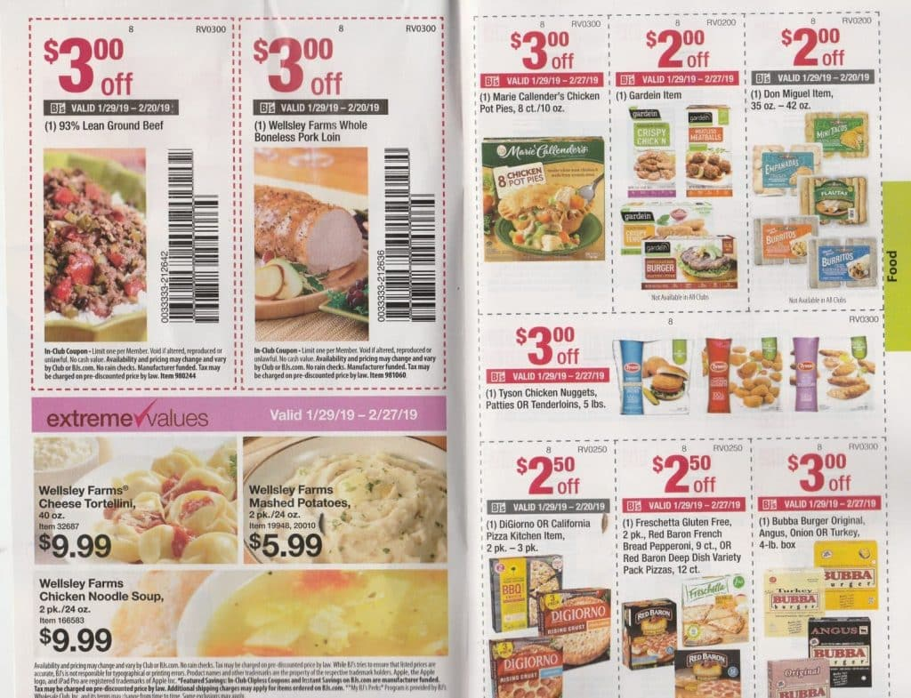 bjs coupon booklet