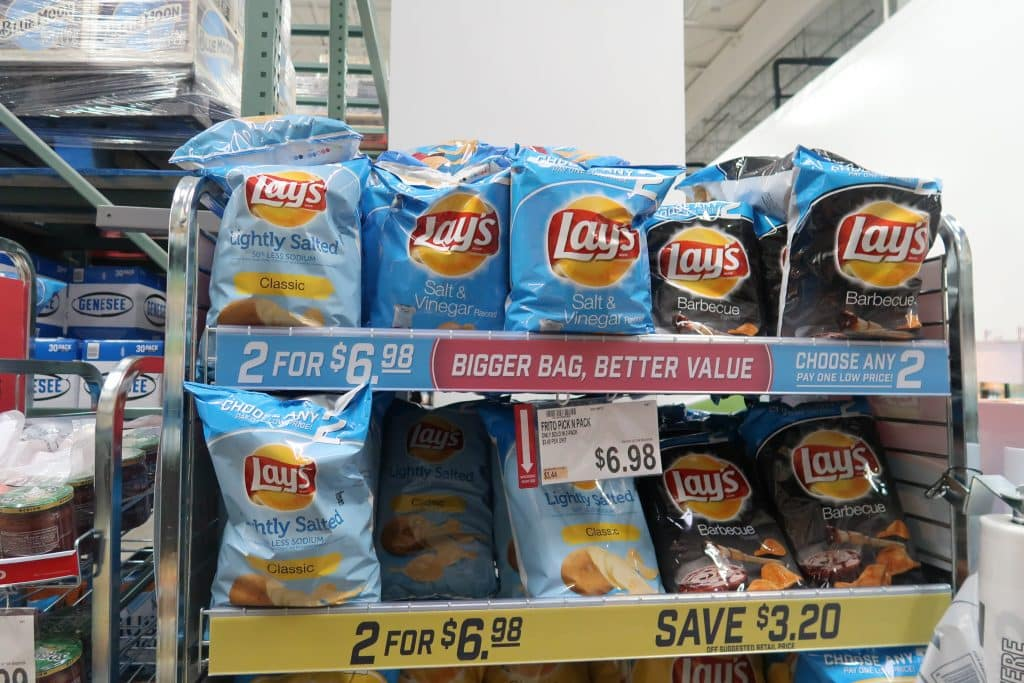 lays chips at bjs wholesale club