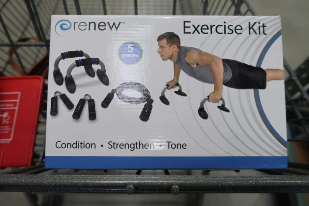 renew exercise kit bjs