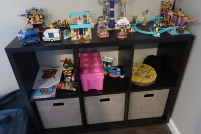 kids cube stand at bjs