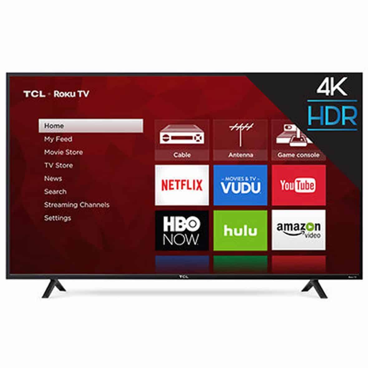 """TCL 65"""" Smart LED TV"""