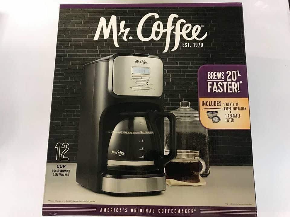 Costco Mr Coffee Programmable Coffee Maker 2399 My Bjs Wholesale