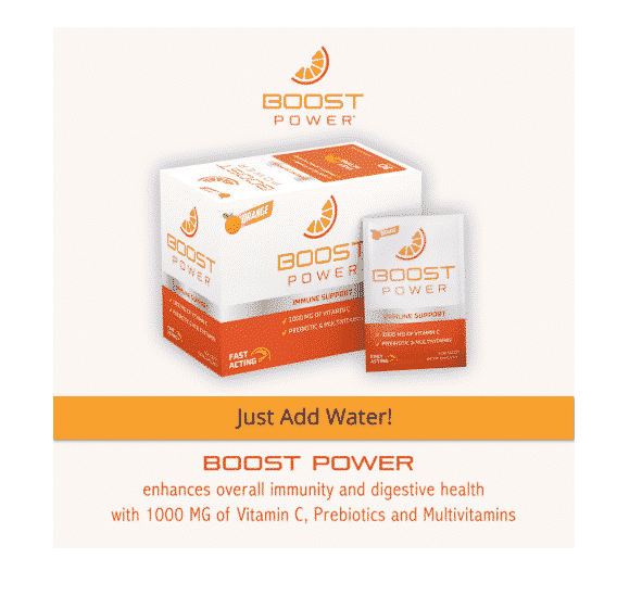 FREE Boost Power Sample! 1000 MGs of Vitamin C!