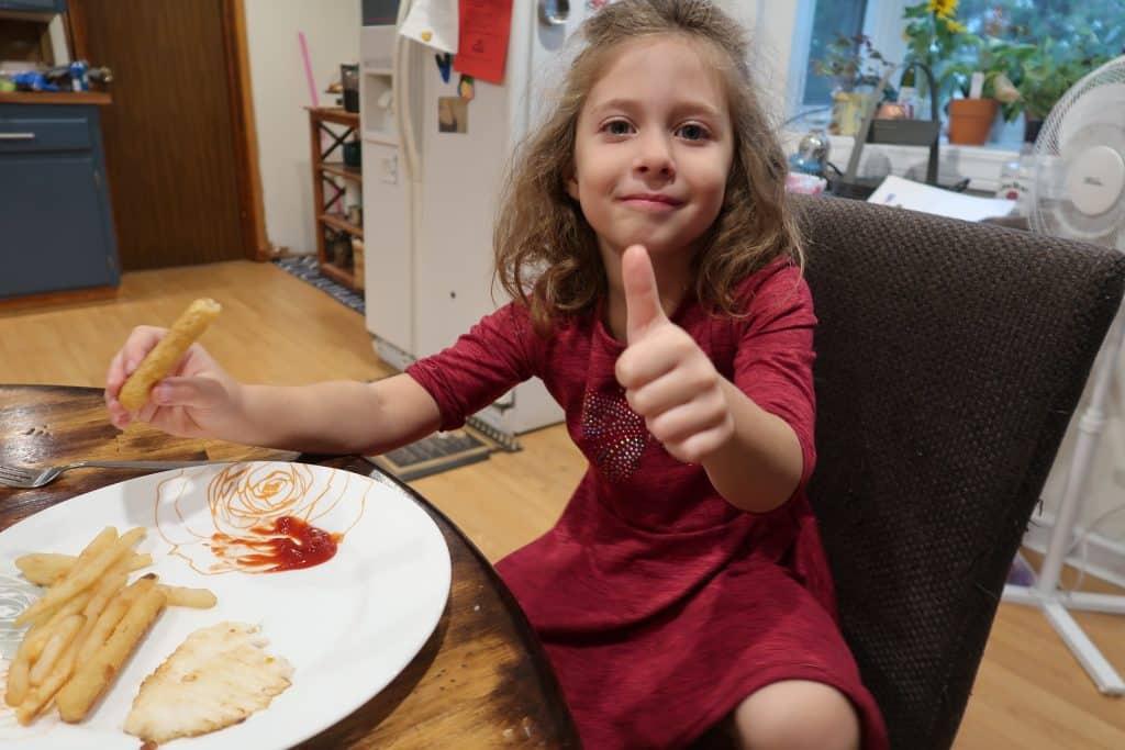cauliflower fries deal at BJs kids tricks