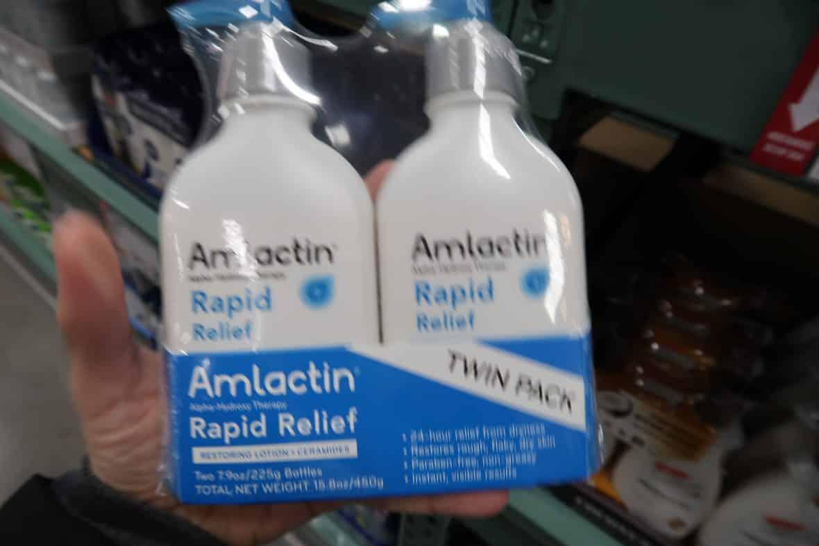 amlactin lotion deal at BJs wholesale club
