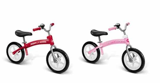 Radio Flyer Bike >> Radio Flyer Balance Bikes Pink Or Red 35 My Bjs Wholesale