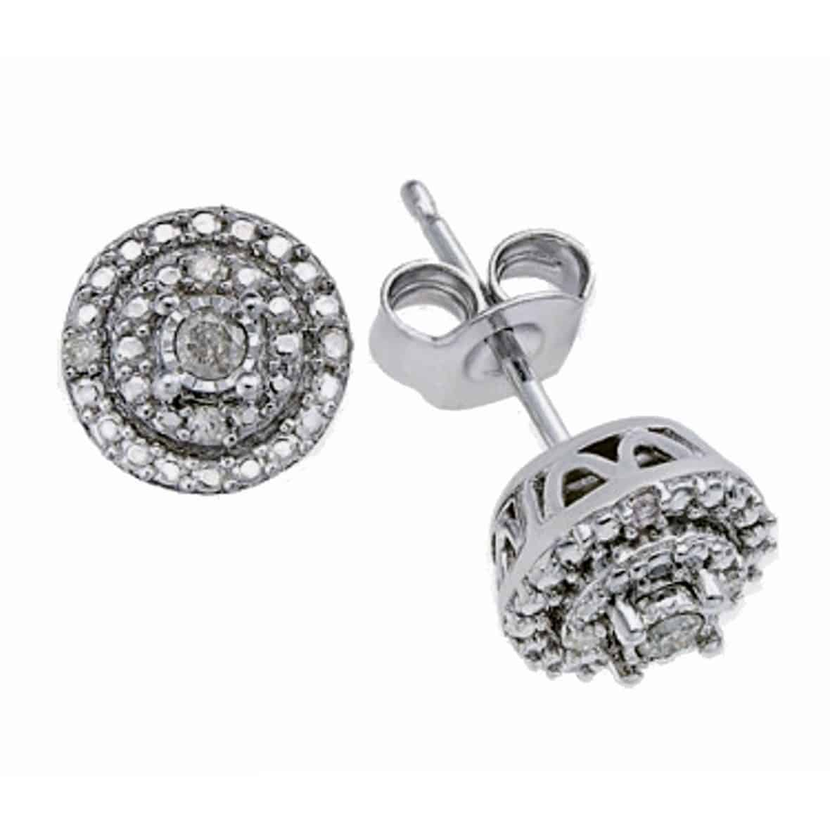 diamond earrings bjs deal