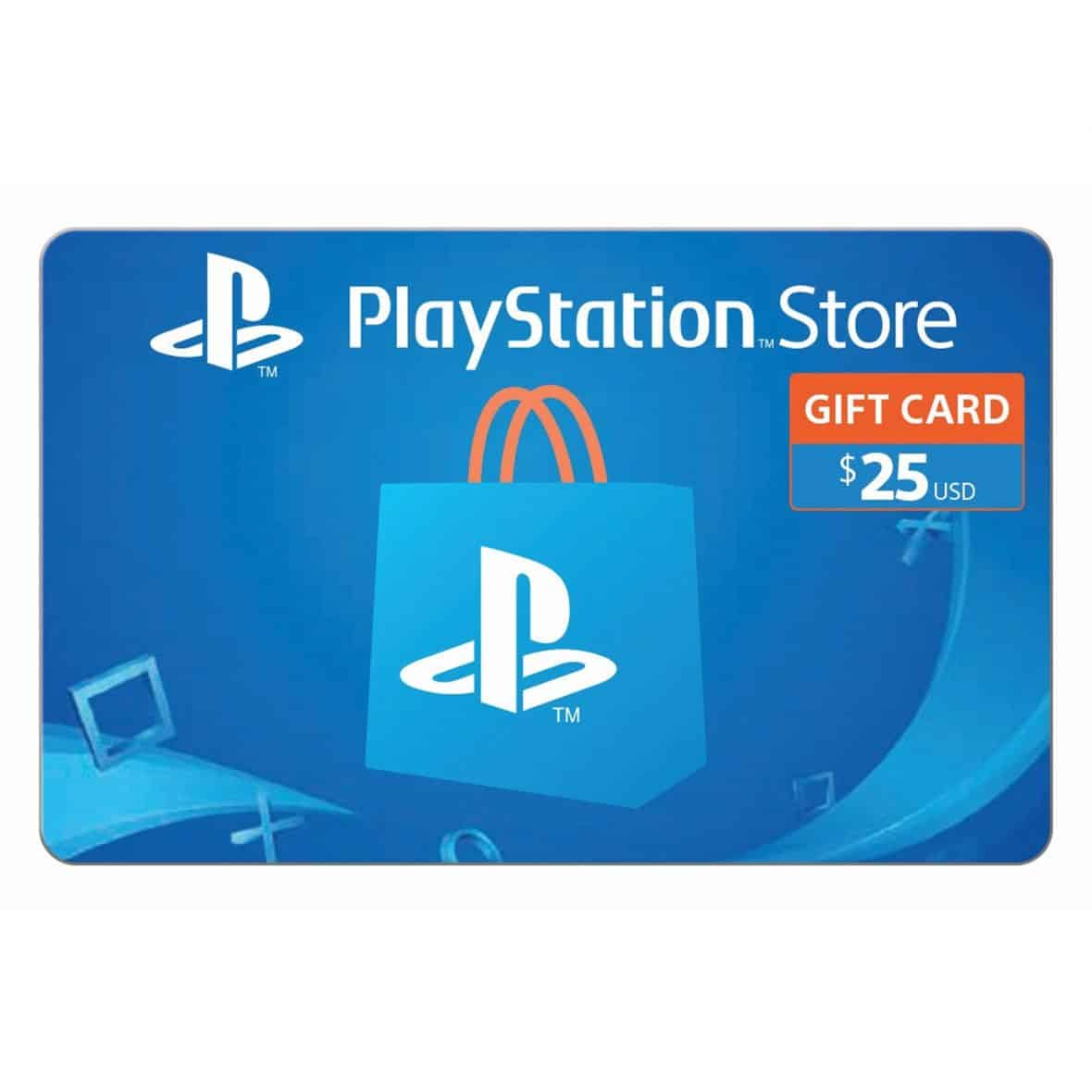 can you use gift cards on playstation store