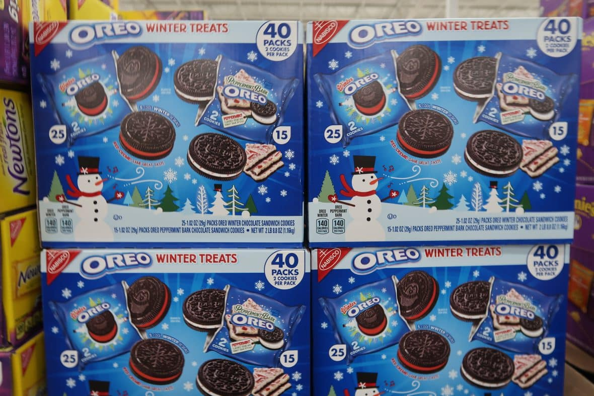 Oreo Winter Variety Cookies 40 ct.  $9.98