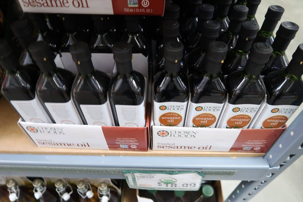 toasted seasme oil at BJs wholesale club