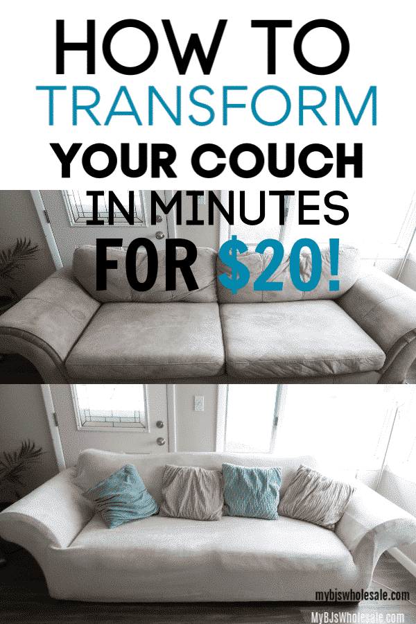 how to diy transform your couch at bjs for under $20