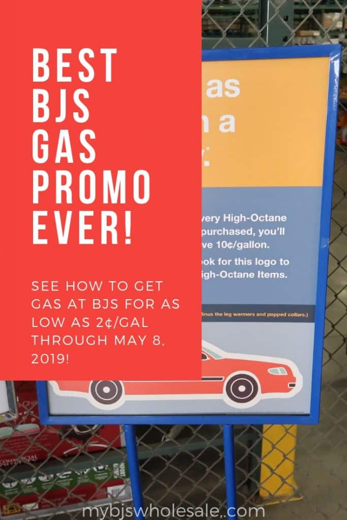 Best BJs Gas Promo EVER!