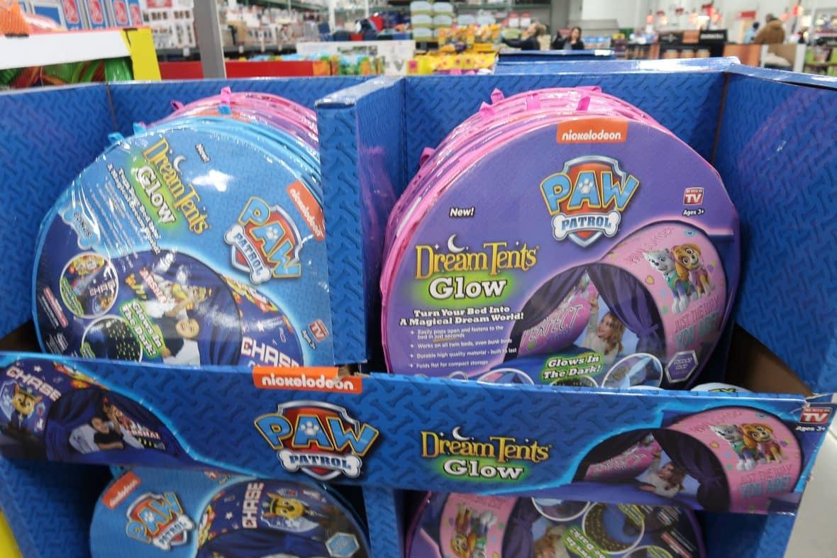 Paw Patrol DreamTents Glow in Dark $19.99