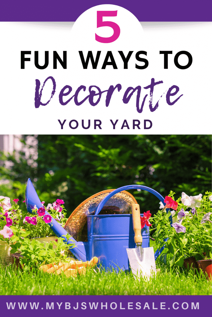 how to decorate your yard bjs wholesale club