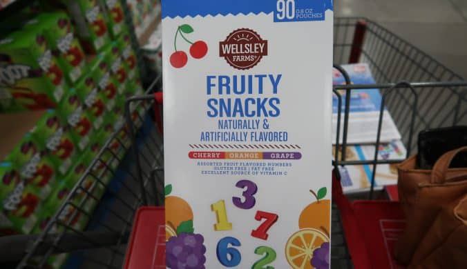 wellsley farms fruit snacks review and price