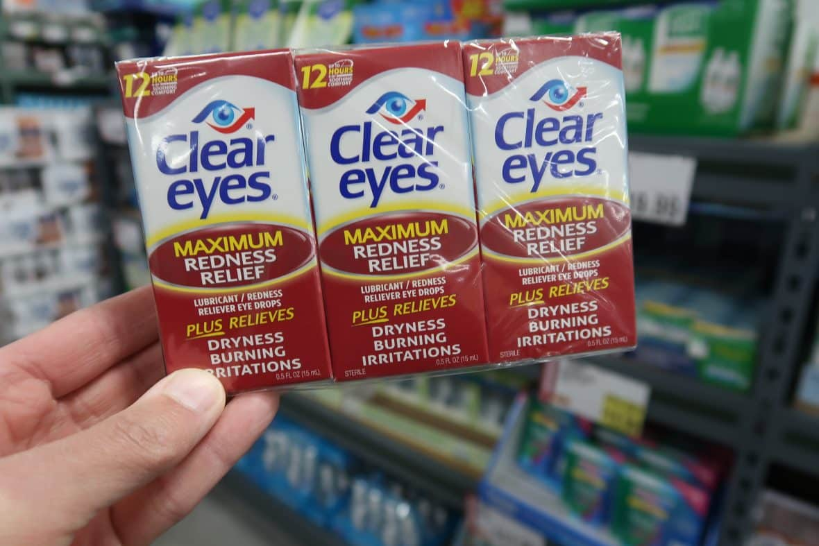 clear eyes redness relief at BJs