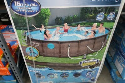 Save $100 on Bestway 16 ft. Swimming Pool | My BJs Wholesale ...