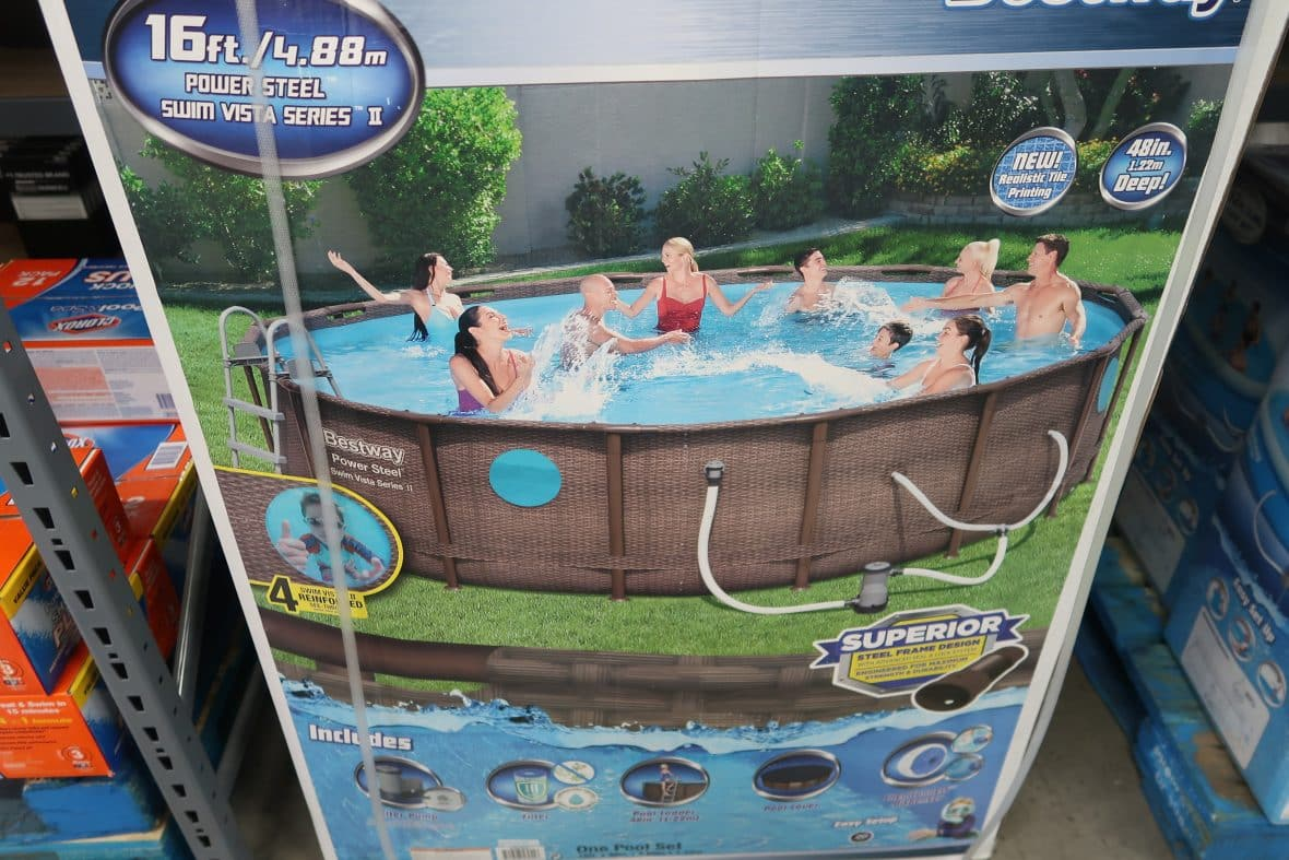 bestway swimming pool at BJs