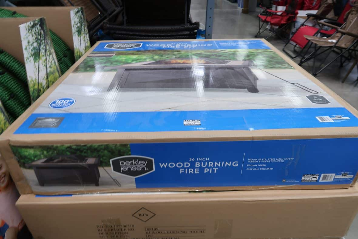 fire pit discontinued at bjs wholesale club