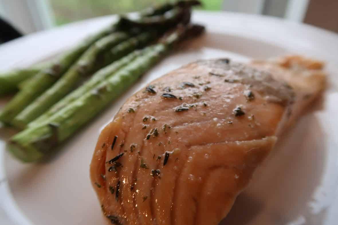 asparagus salmon ideas