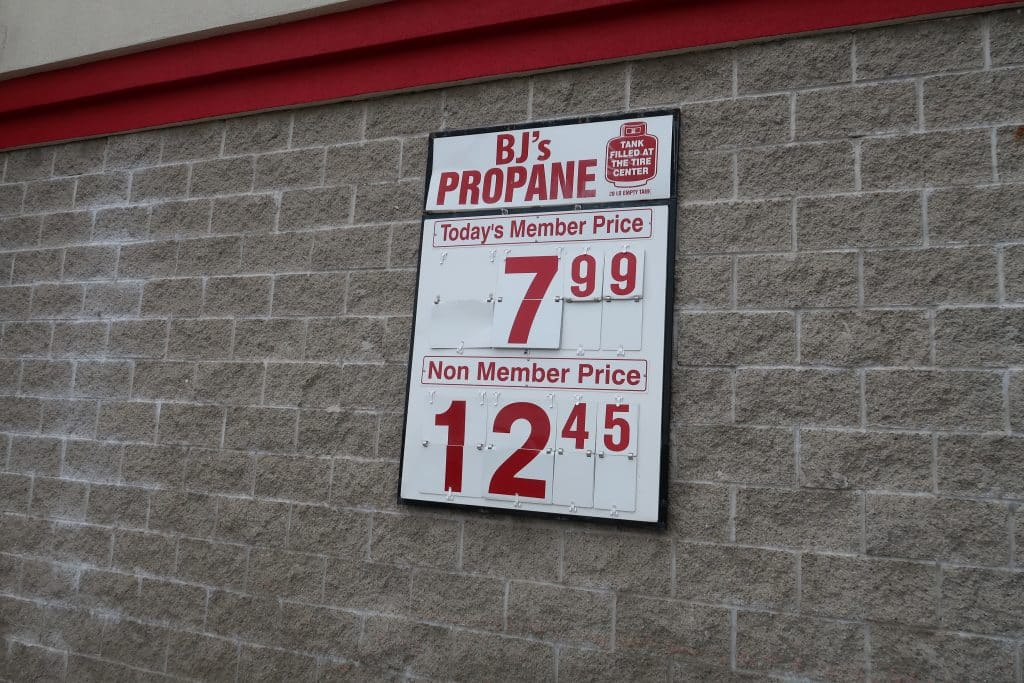 cheapest propane refill near me BJs Wholesale club