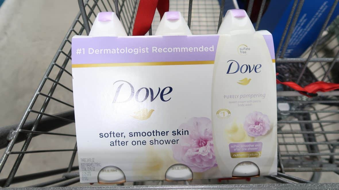 dove body wash clearance bjs coupon