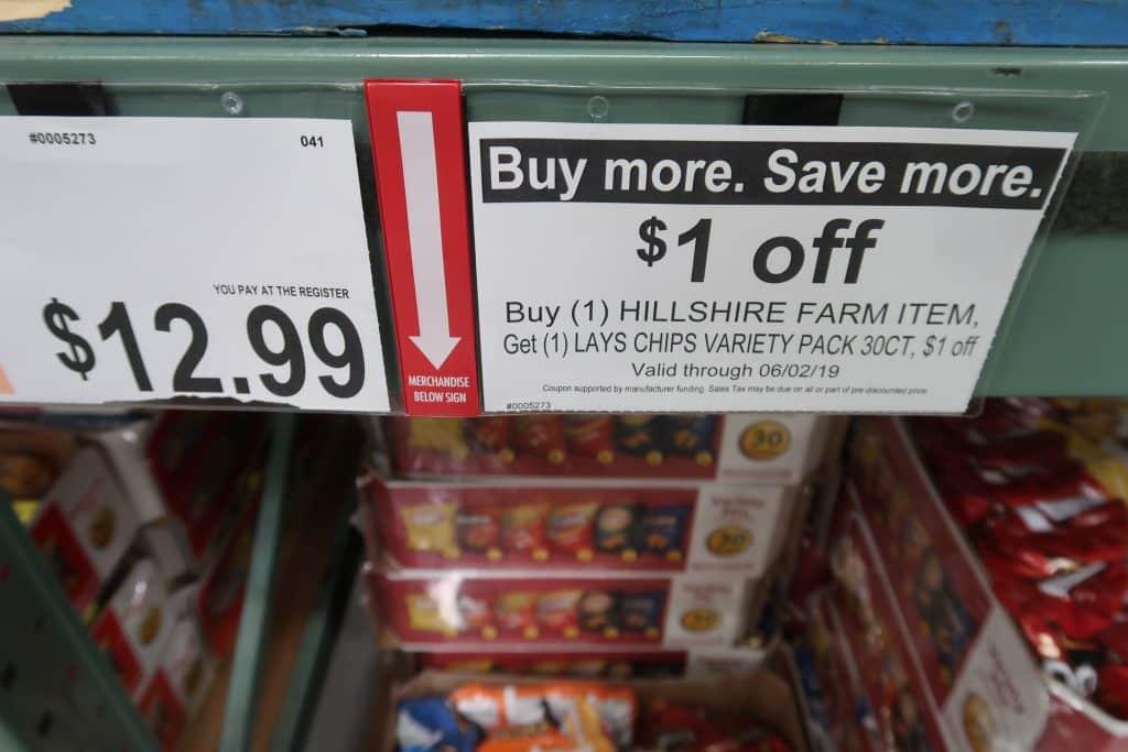 lays chips bjs coupon item