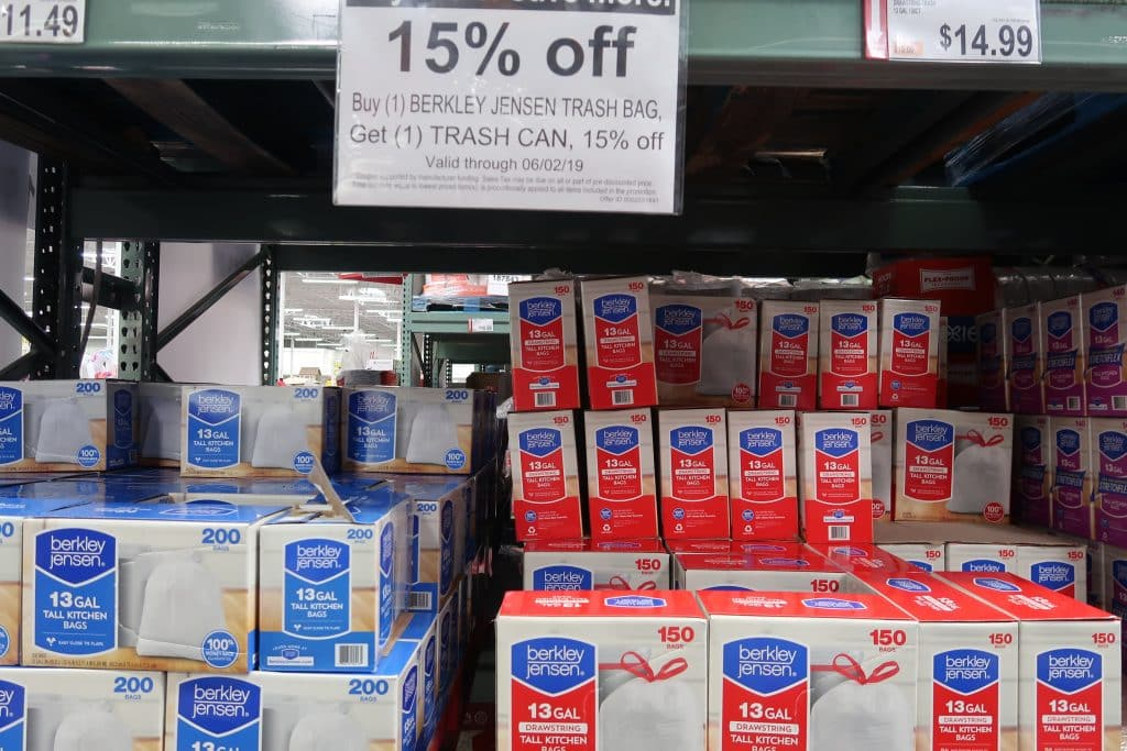 berkley jensen bags bjs buy more save more coupon promo