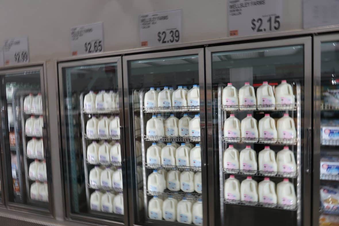 gallon of milk at BJs wholesale club