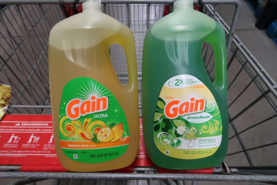 New Gain Lemon Zest Dish Detergent at BJs!