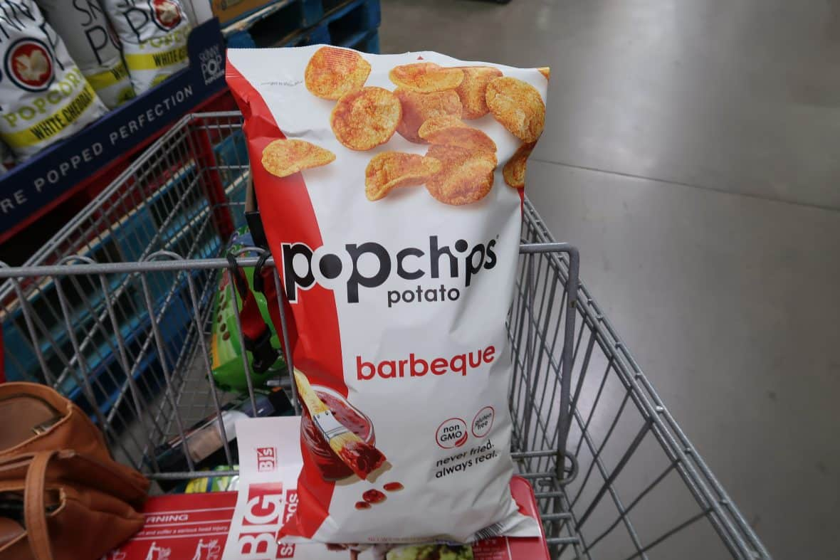PopChips Barbeque at BJs with New Coupon