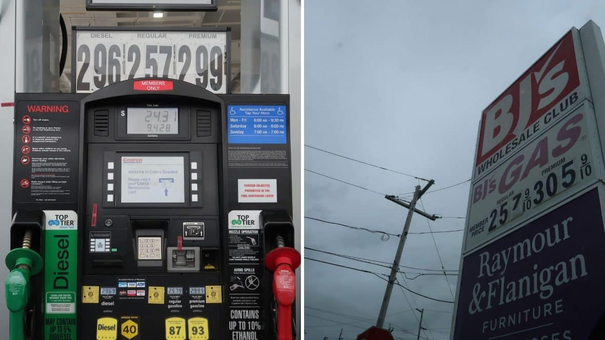 Gas Prices at Costco & BJs This Week