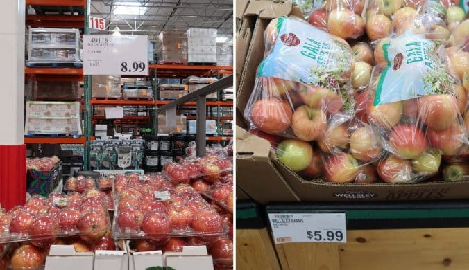apples at BJs and costco