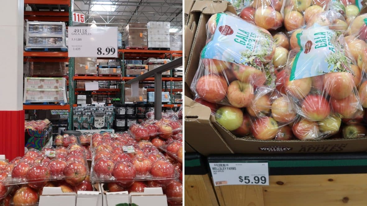 Costco Vs  BJ's Produce Items Compared | My BJs Wholesale Club