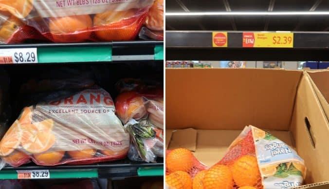 oranges at bjs and aldi