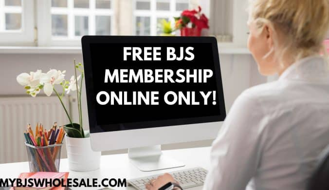 free online bjs membership