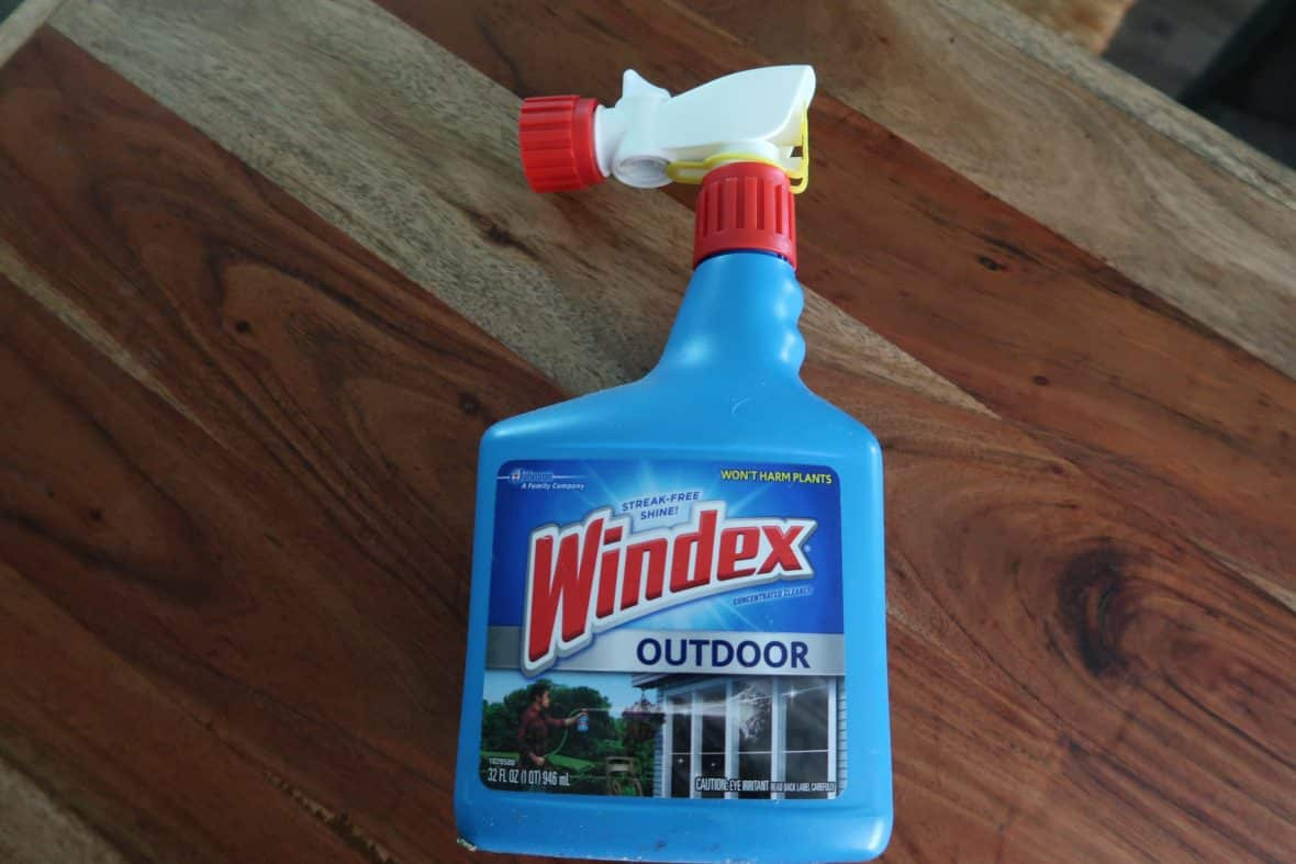 outdoor windex cleaner coupon at BJs