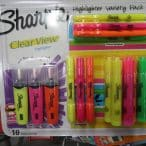sharpie highlighter set