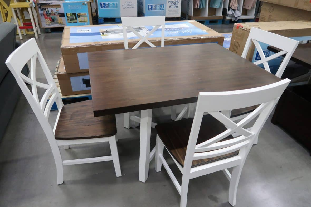 table set at BJs wholesale club