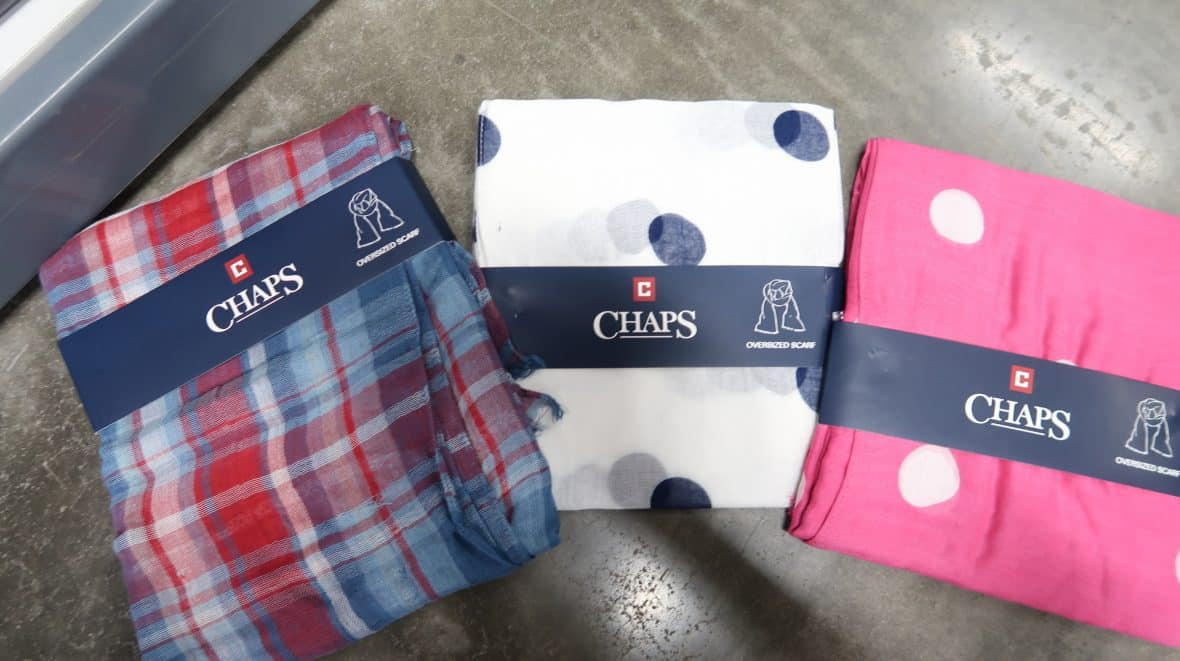 Chaps Women's Scarfs ONLY $3.98!
