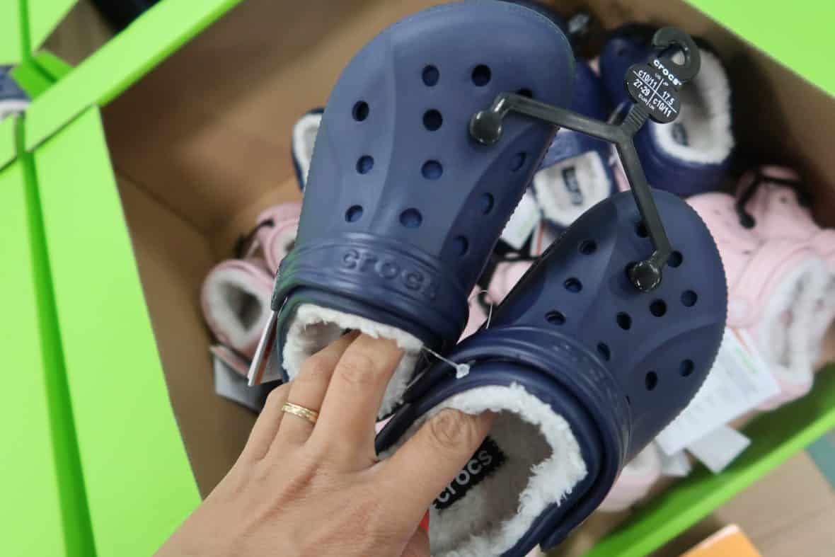 Fuzzy Crocs Out at BJs for the Kiddos!