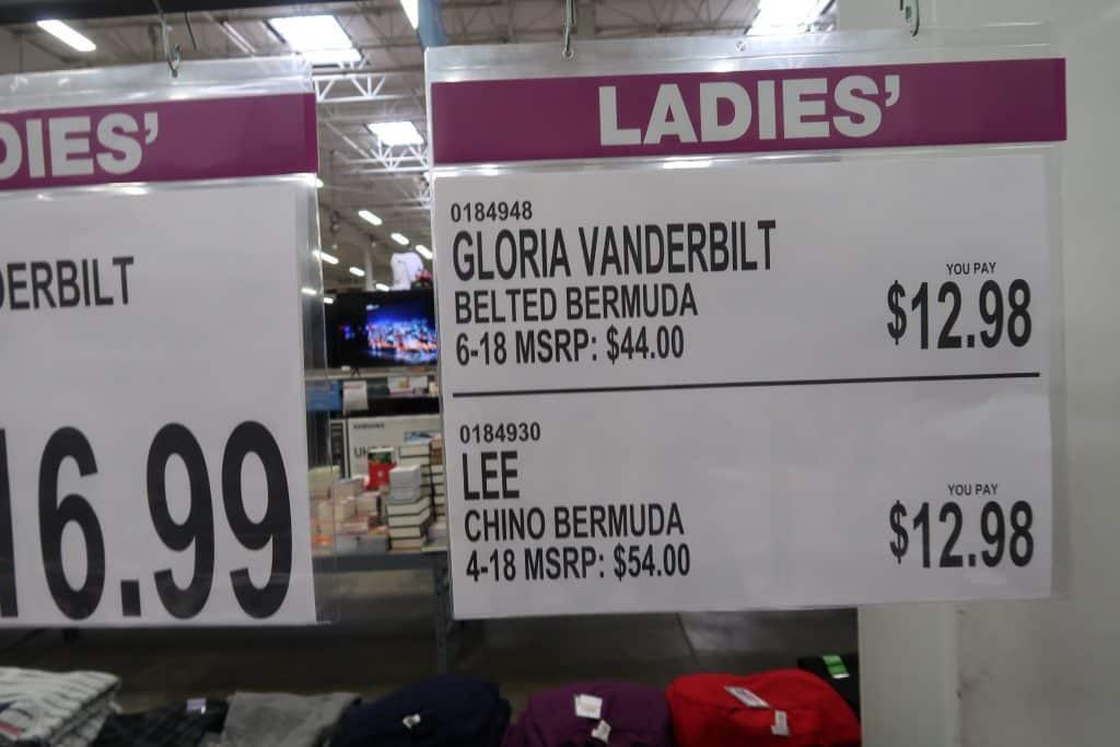 gloria vanderblt jeans at BJs