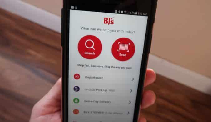 bjs updates bjs app for members