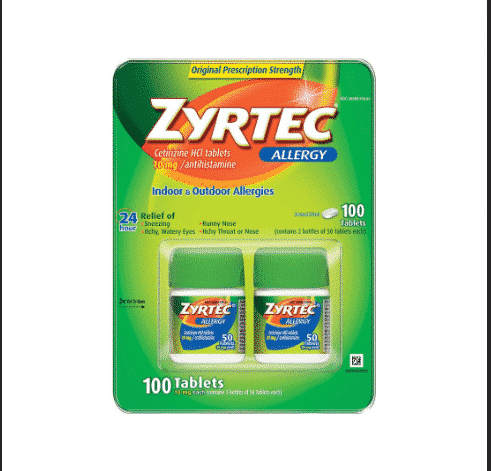 Save $12 on Zyrtec with Coupons at BJs!