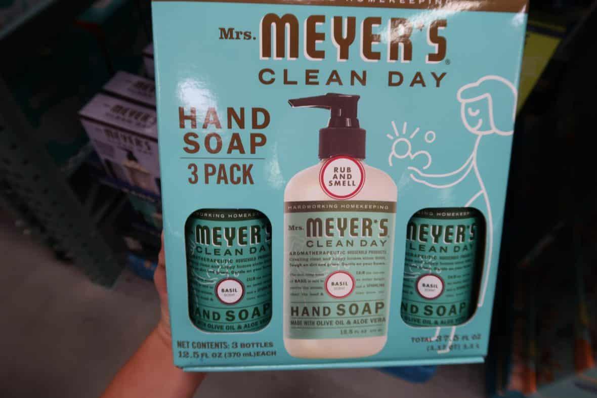 Mrs. Meyer's 3 Pack Soap $8.38 Shipped