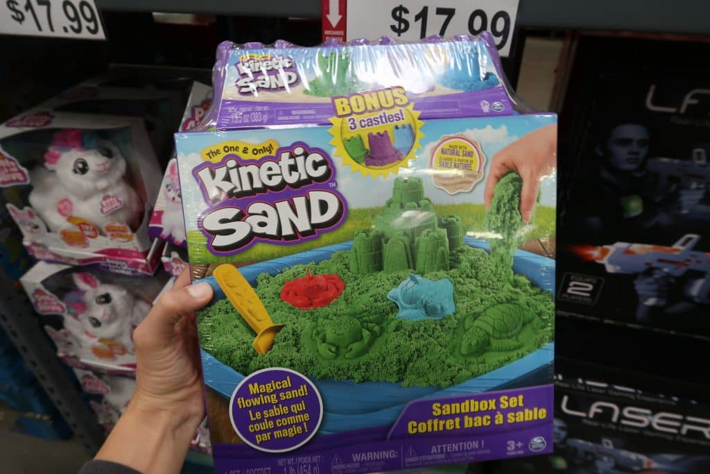 kinetic sand at BJs wholesale club